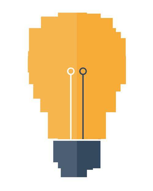 Flat-Bulb-Icon